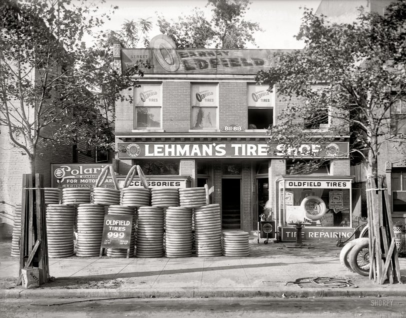 Oldfield Tires: 1921