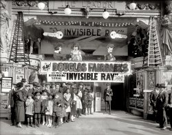 The Invisible Ray: 1921