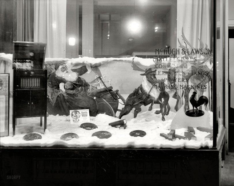 Santa Claus Time: 1921