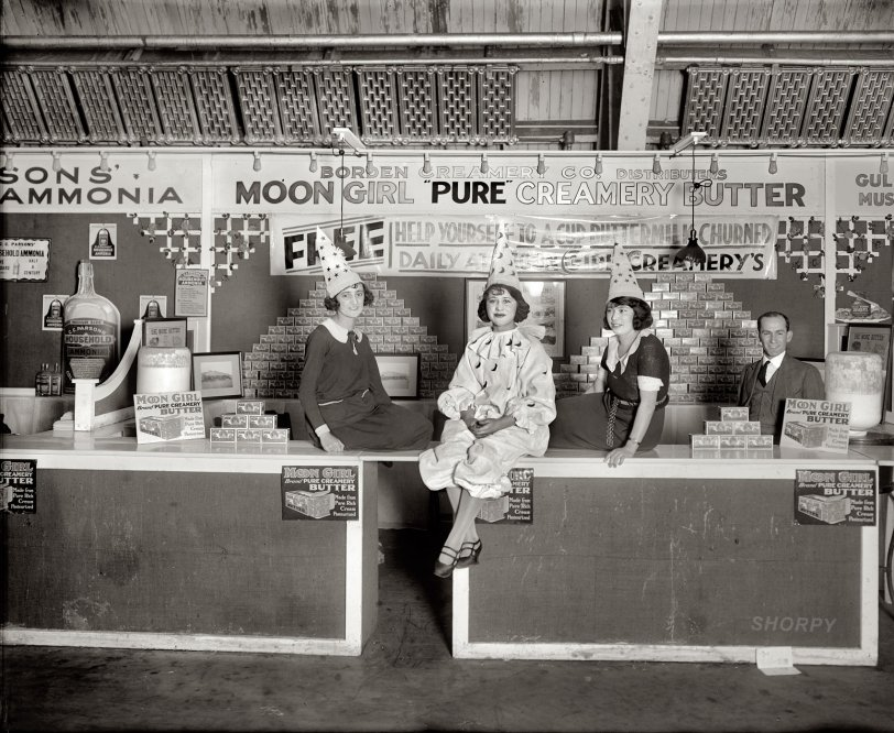 Moon Girl Butter: 1922