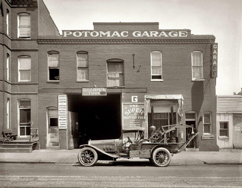 Potomac Garage: 1922