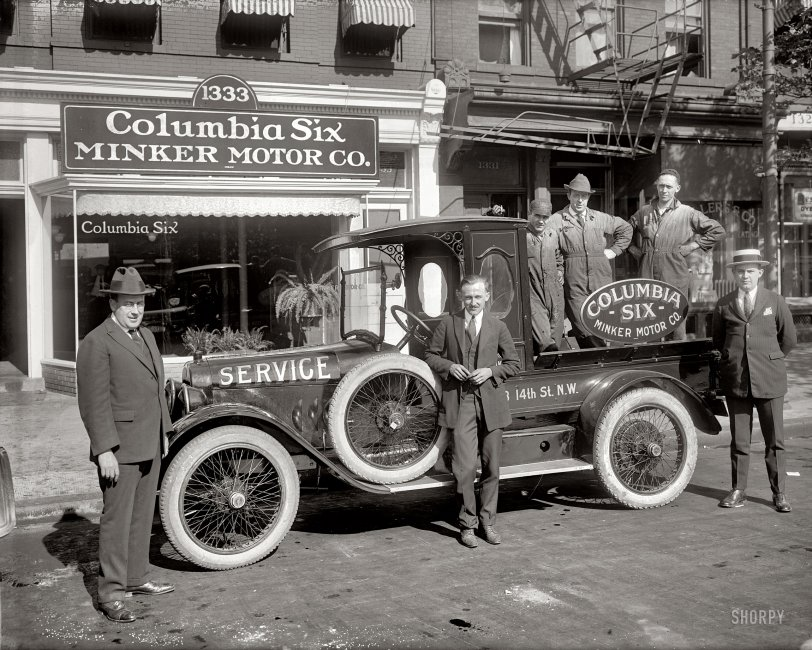 Minker Motor Co.: 1922
