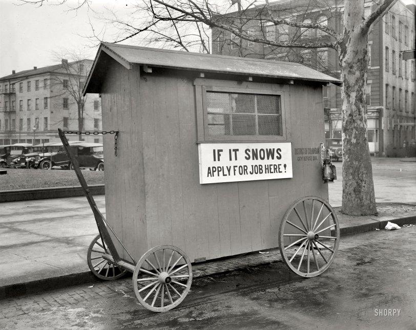 Snow Job: 1923