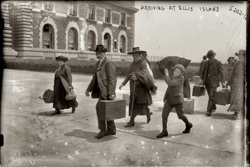 Immigrant Arrival: 1907