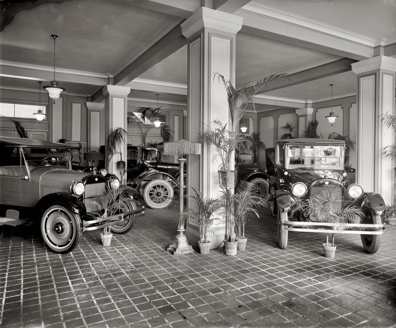 Green Cars: 1920