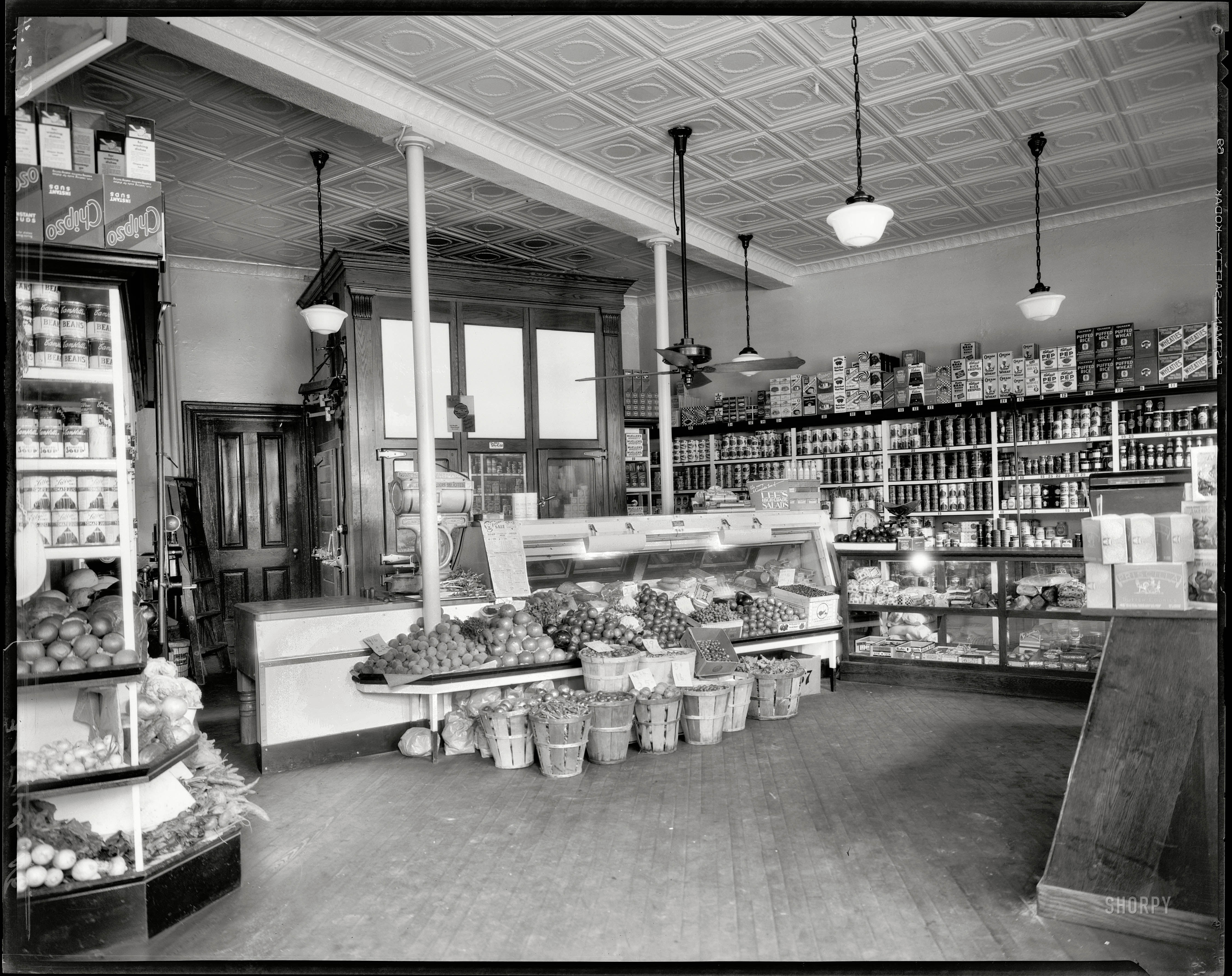 Shorpy Historic Picture Archive District Grocery Store