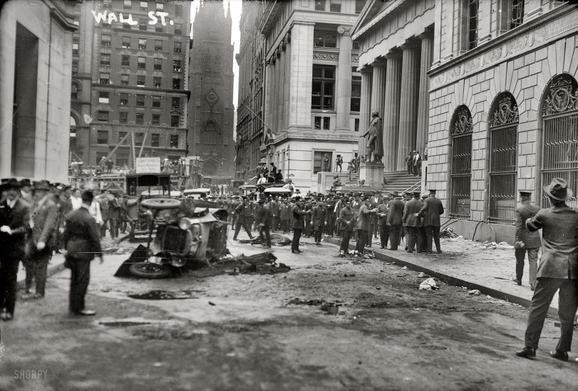 Bloodbath on Wall Street: 1920