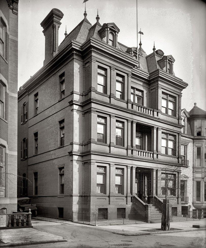 Embajada de Mexico: 1920