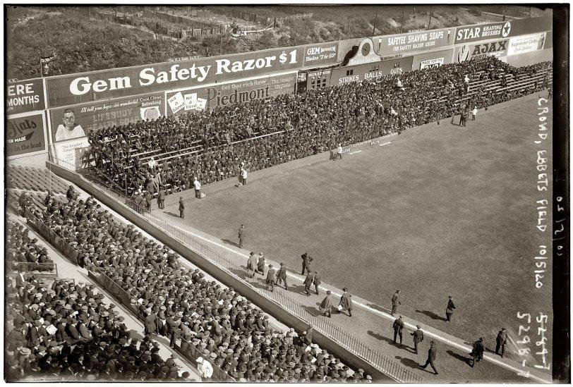 Ebbets Field: 1920