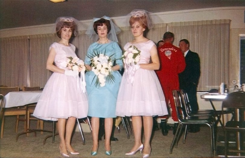 Bride and Bridesmaids: 1963