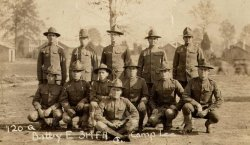 314th Field Artillery, Battery E 1918