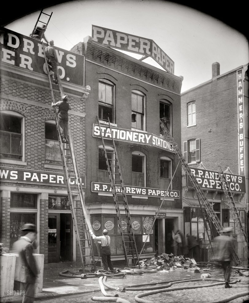 Mysterious Fire: 1912