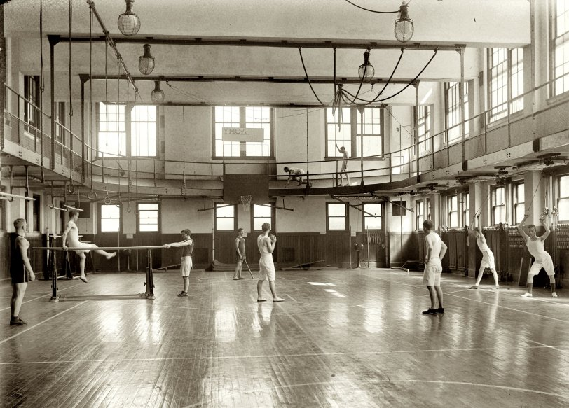 Gym Rats 1920 Shorpy Historical Photos