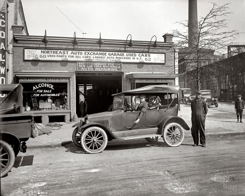 The Car Bar: 1925