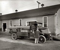 Texaco Tanker: 1925