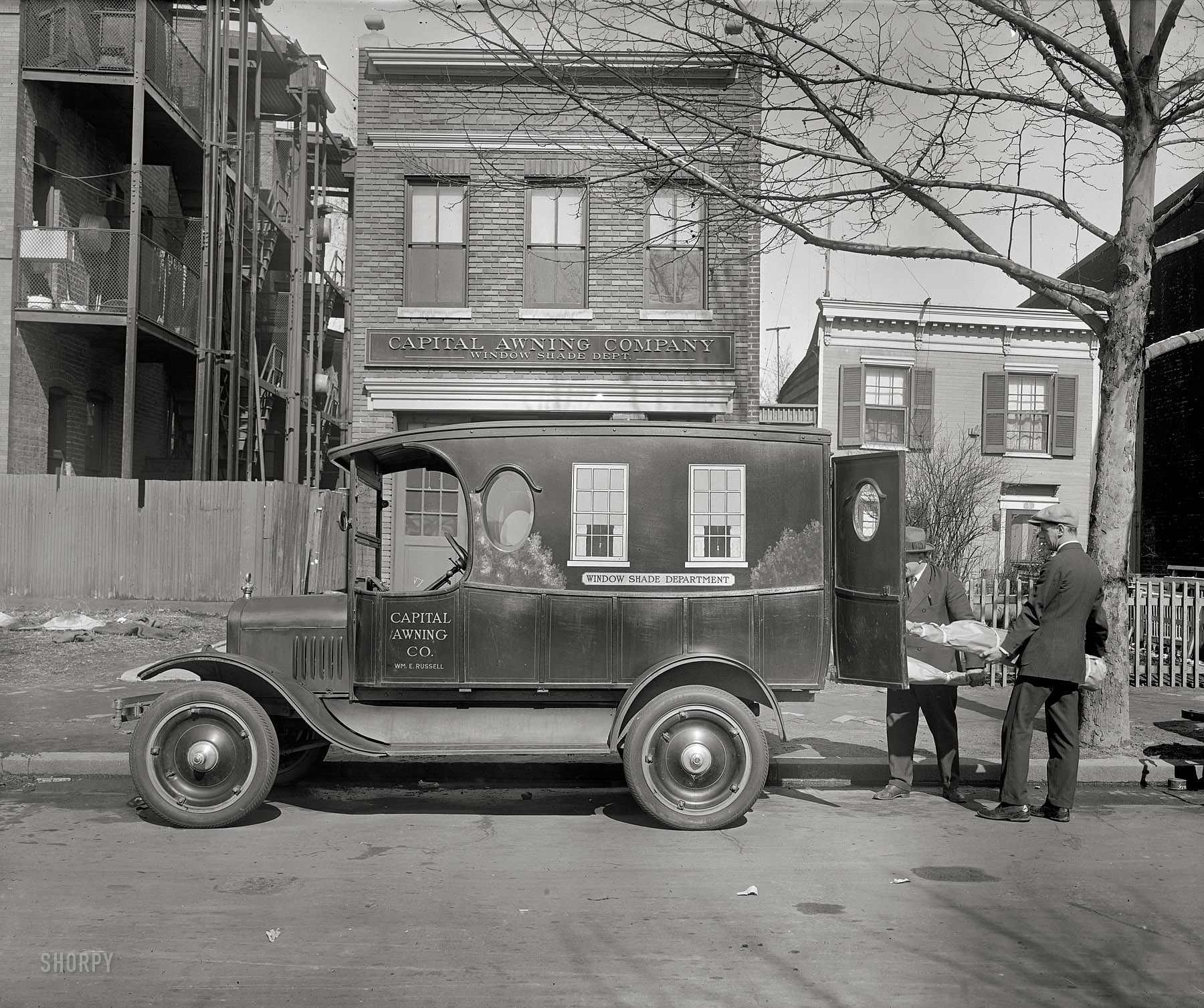 Shorpy Historic Picture Archive Capital Awning 1926