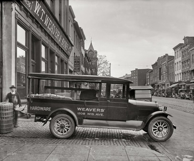 Weaver Hardware: 1926