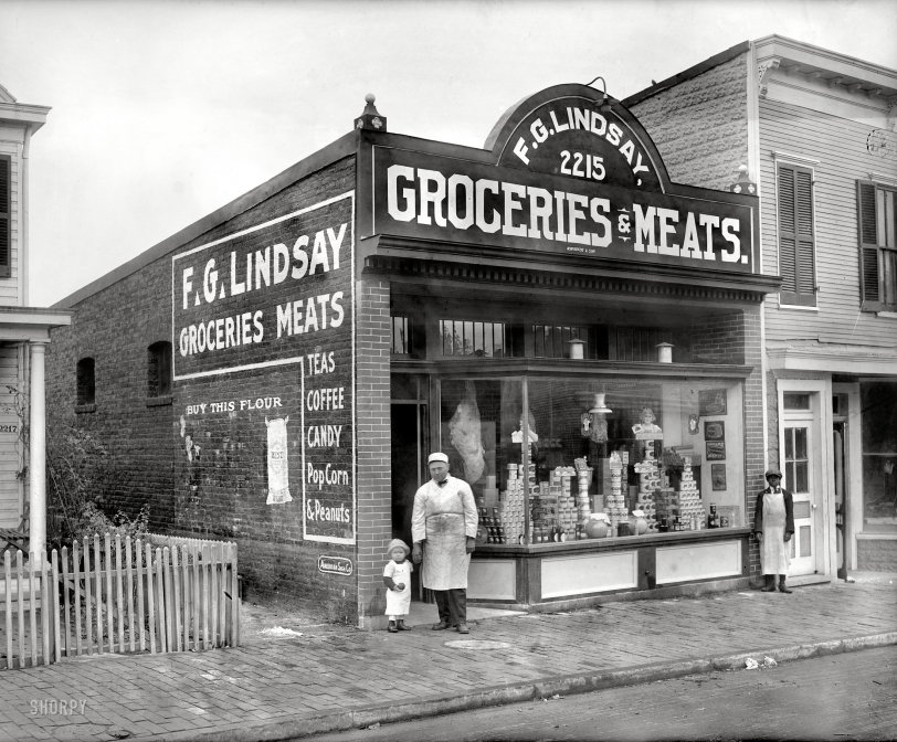 Groceries and Meats: 1925