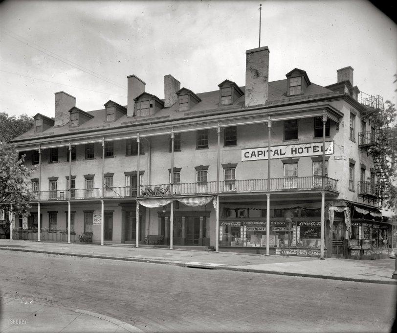 Capital Hotel: 1920