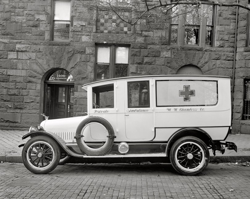 Private Ambulance: 1927