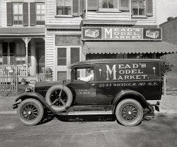 Mead's Model Market: 1927