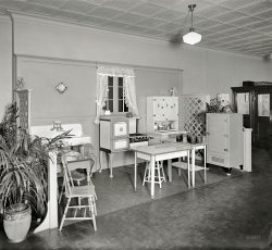 Model Kitchen: 1926