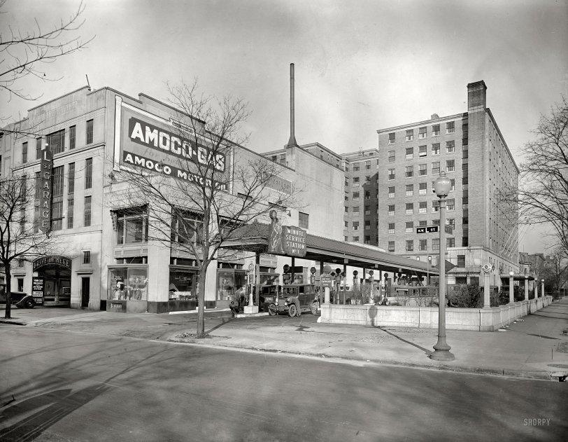 L Street Garage: 1928