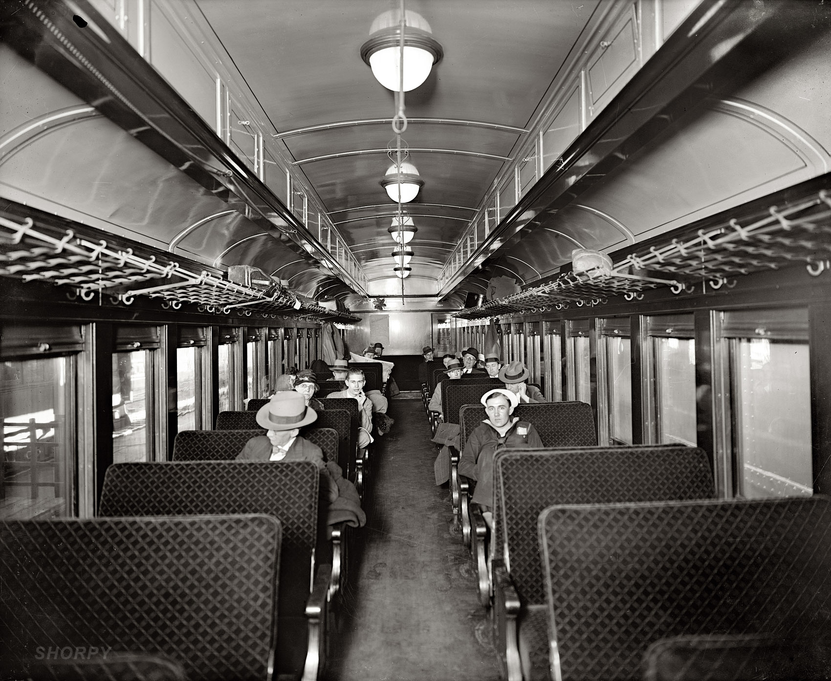 shorpy historic picture archive strangers on a train 1928 high resolution photo. Black Bedroom Furniture Sets. Home Design Ideas
