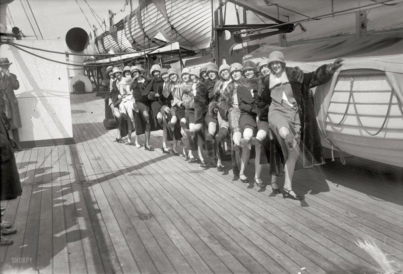 Tiller Girls: 1926