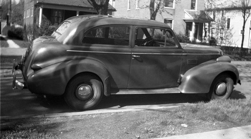 Dad's 1939 Pontiac