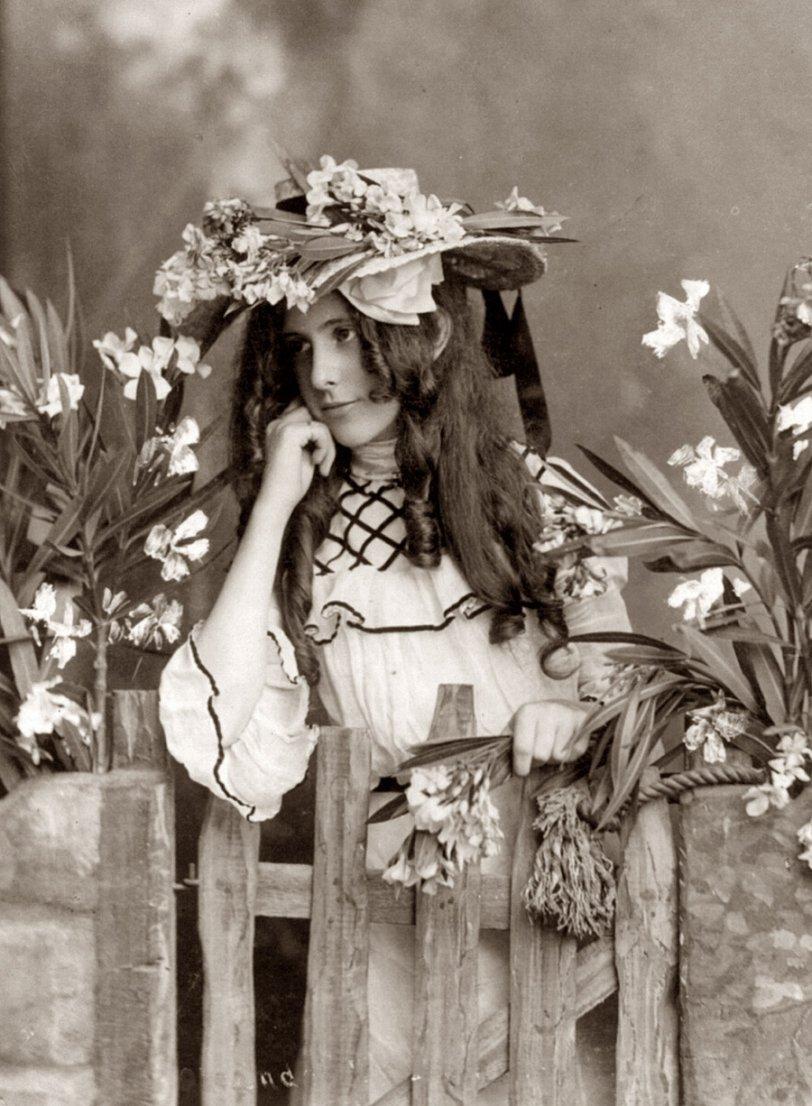 Flower Lady: c. 1902