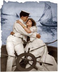Shipmates (colorized)