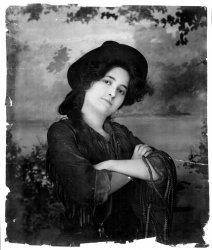 Cowgirl Model: c. 1902