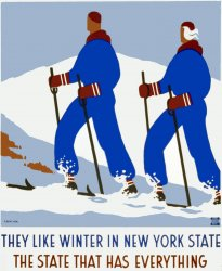 They Like Winter in New York State