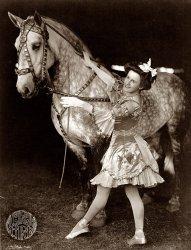 A Circus Girl: 1908