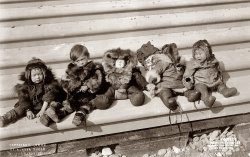 Eskimo Children: c. 1908