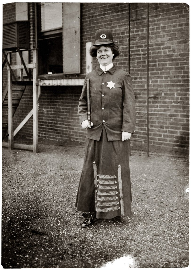 Woman Police Concept: 1909