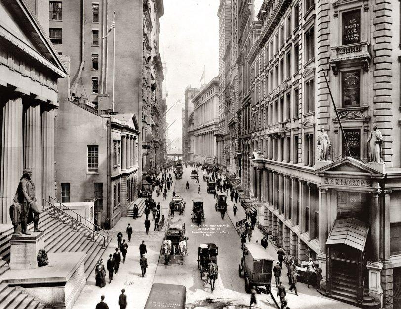 Wall Street: 1911