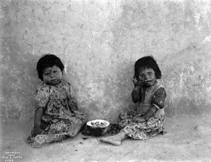 Hopi Girls: c. 1900