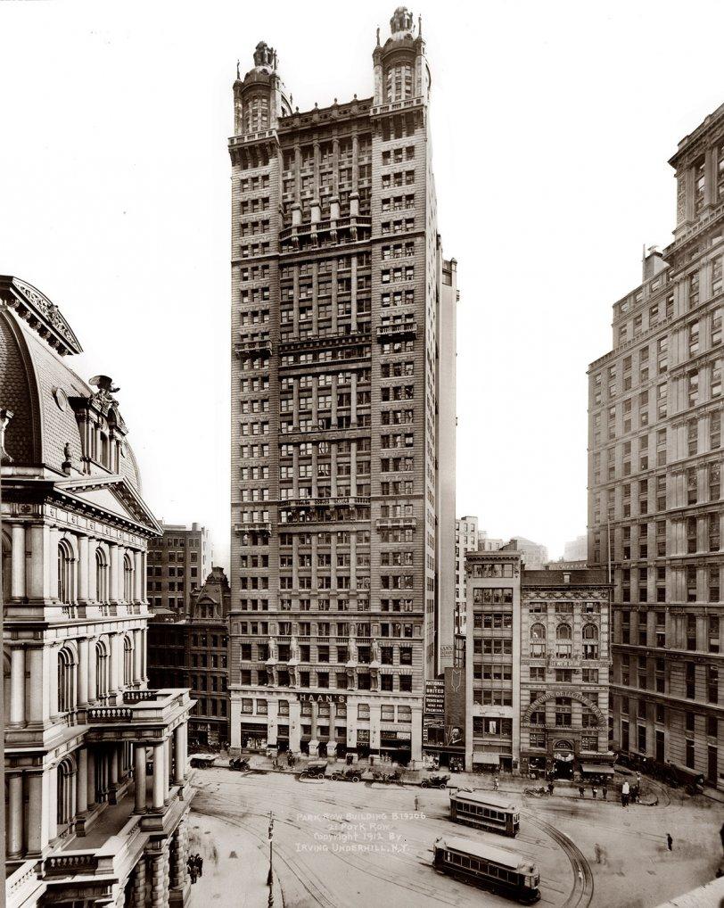 Park Row: 1912