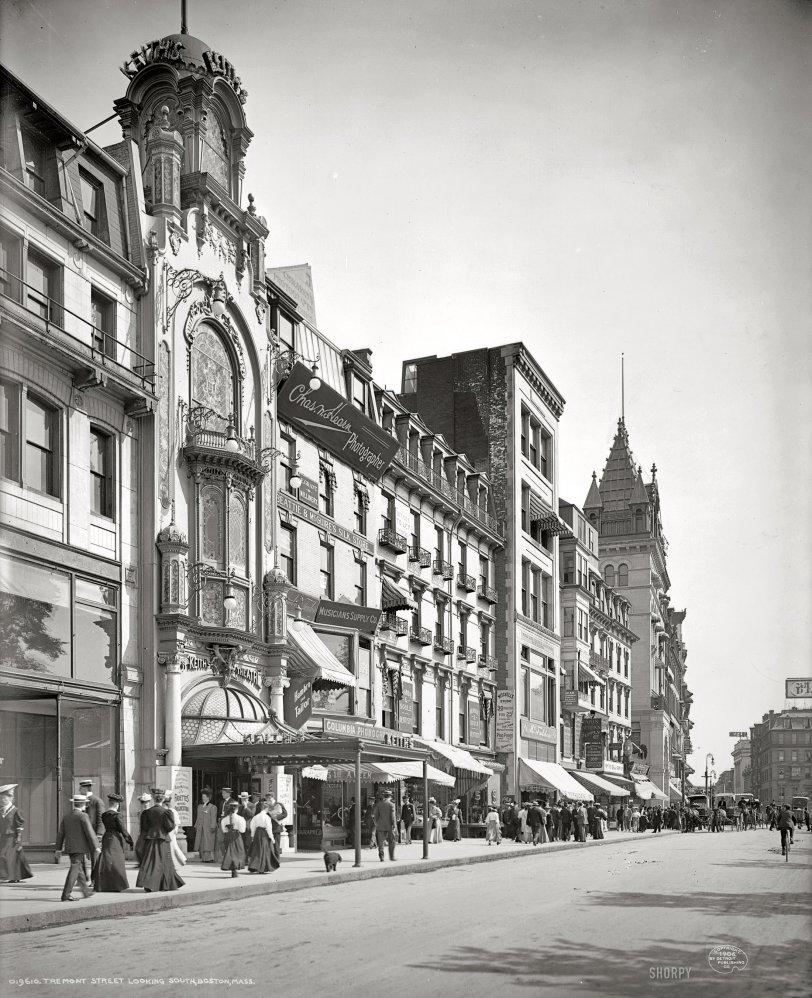 Tremont Street: 1906