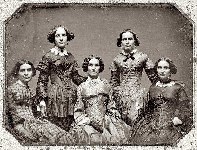 Five Sisters: 1850