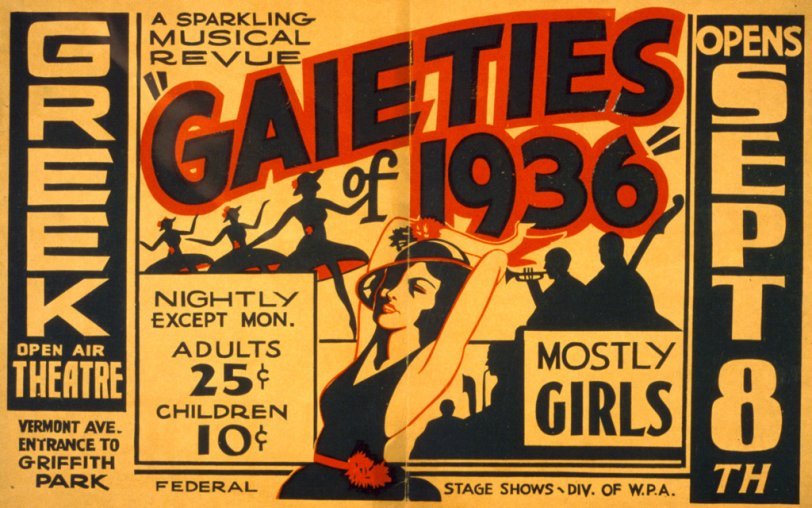 Mostly Girls: 1936