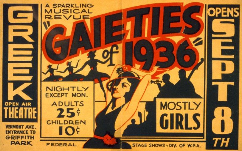 Mostly Girls: 1936