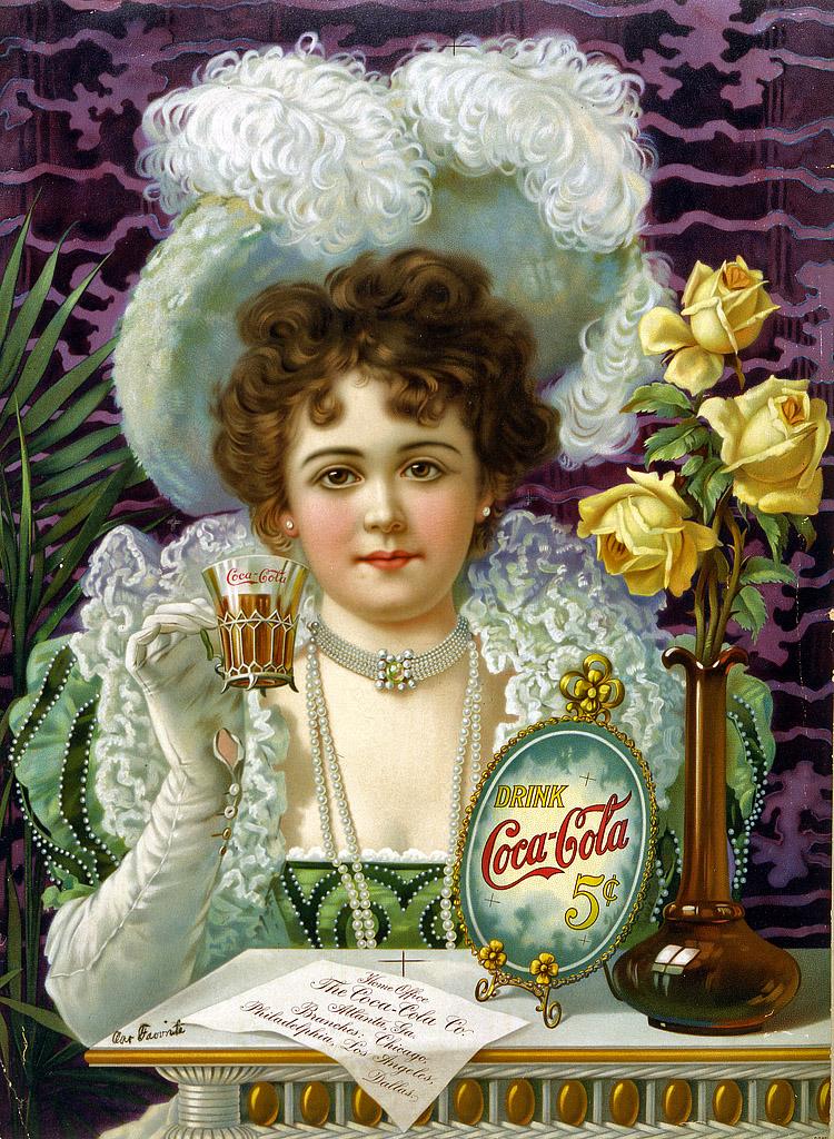 Drink Coca-Cola: 1890s