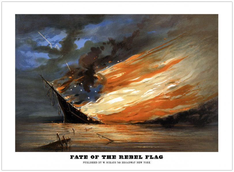 Fate of the Rebel Flag: 1861