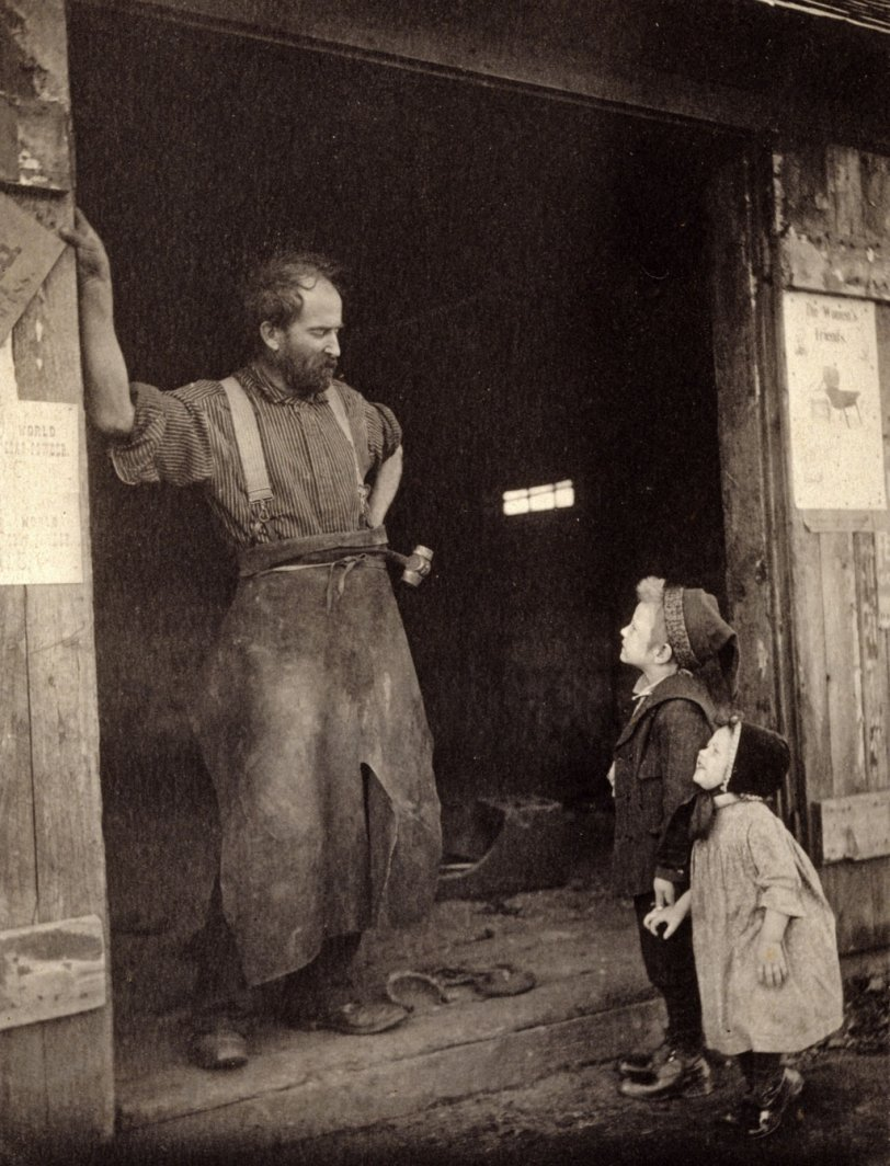 Blacksmith C 1900 Shorpy Historical Photos
