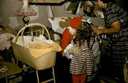 Santa Comes for a Visit: 1958