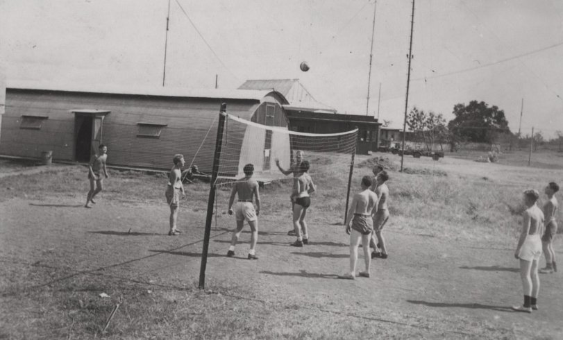 Subic Bay Volleyball: 1945