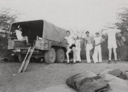 Work at Subic Bay: 1945